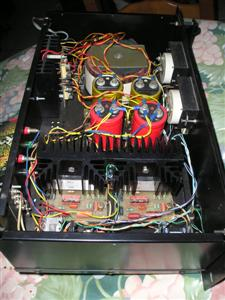 electronique 3d amplificateur de puissance. Black Bedroom Furniture Sets. Home Design Ideas